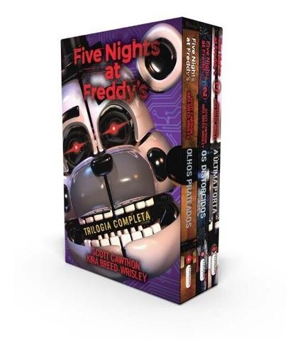 Box Five Nights At Freddys - Novo - 2020 -  Scott Cawthon