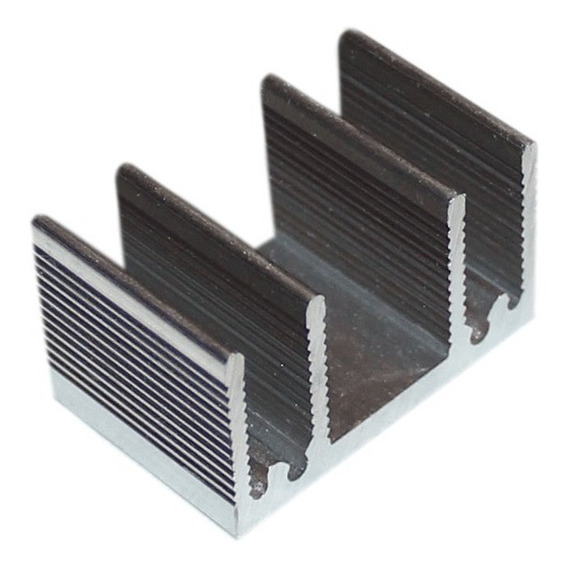 Dissipador De Calor - 15mm - Pacote Com 10 Peças - R$7,30