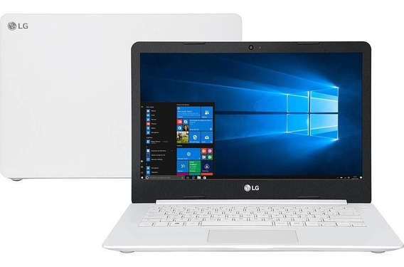 Notebook Lg Ultra Slim 14u380-l.bj36p1 Branco