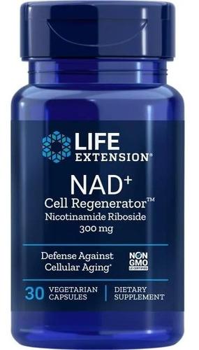Imagem 1 de 4 de Nad+ Cell Regenerator Nicotinamida Ribosídeo 300mg Life Ext