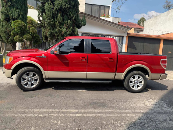 Ford Lobo 5.4 Lariat Cabina Doble 4x2 Mt 2009