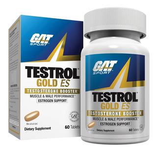 Gat Testrol Gold Es 60 Tabletas , 30 Porciones