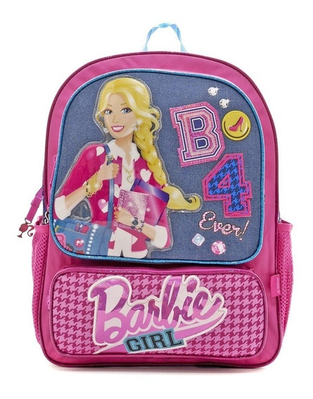 Mochila De Espalda Barbie Con Licencia Original 16 Jean