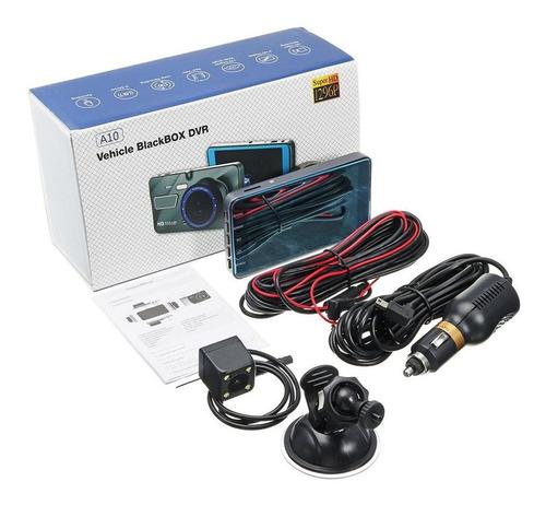 4 Polegadas 1080p Lente Dupla 170 Graus Hd Câmera Carro Dvr