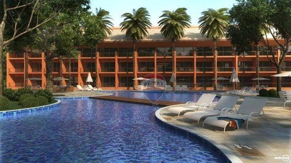 Apartamento Com 1 Quarto (suíte) Para Vender, 37 M² Na Praia Dos Carneiros - Ap0770
