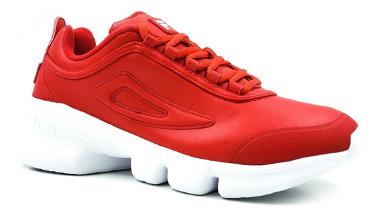 Fila Disrunner 2 Rojo,blanco,negro/ Juvenil