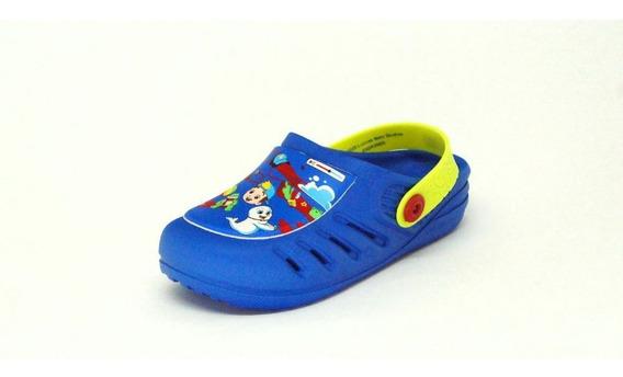 Babuchi Infantil Grendene Kids Luccas Neto Azul - 22226