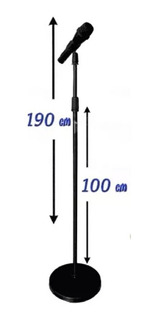 Stand Pedestal De Microfono De Piso Recto Kst-102