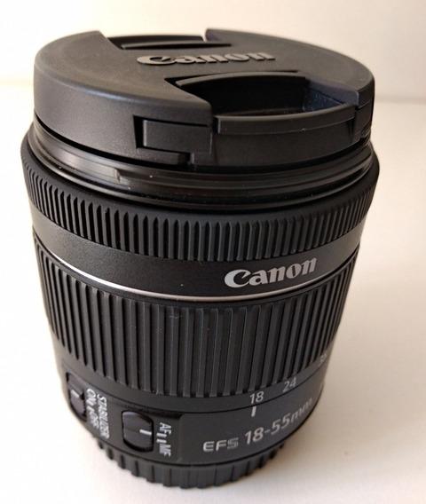 Lente Canon Efs 18-55mm Imagem Stabilizer
