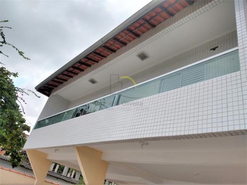 Imagem 1 de 16 de Sobrado Com 2 Dorms, Sítio Do Campo, Praia Grande - R$ 230 Mil, Cod: 2055 - V2055