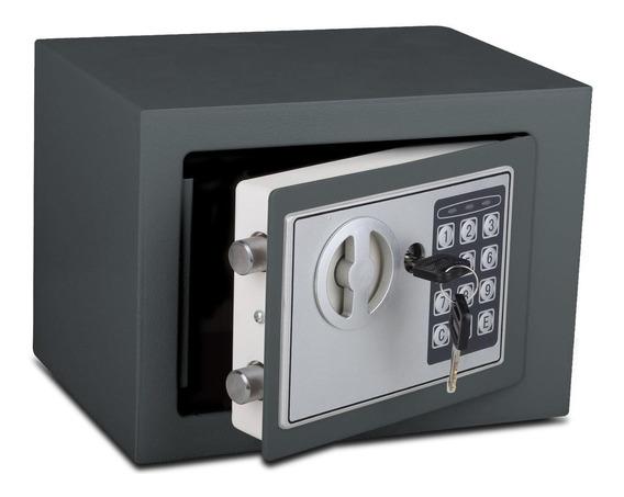 Caja Fuerte De Seguridad Acero Digital Y Con Llave Chica
