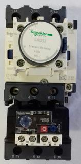 Contatora Tripolar Lc1d50+ Relé Térmico + Bloco Temporizador