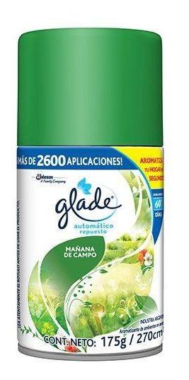 Glade Automático Mañana De Campo Repuesto Repuesto De 175 G