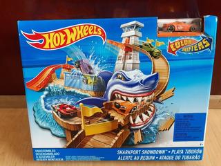 Oferta! Hot Wheels Playa Tiburón Nuevo