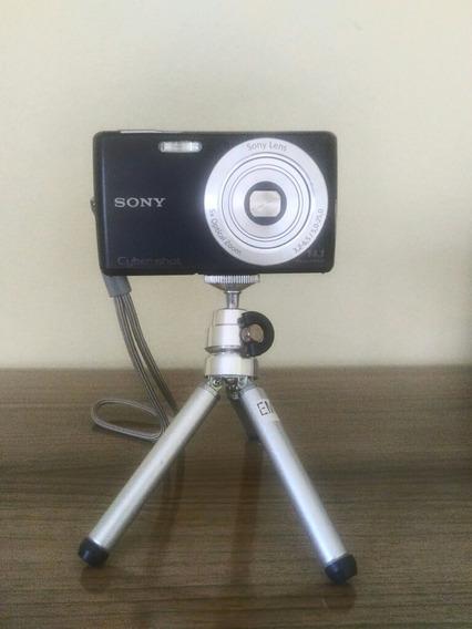 Câmera Sony Cyber W610 Com Kit Acessórios