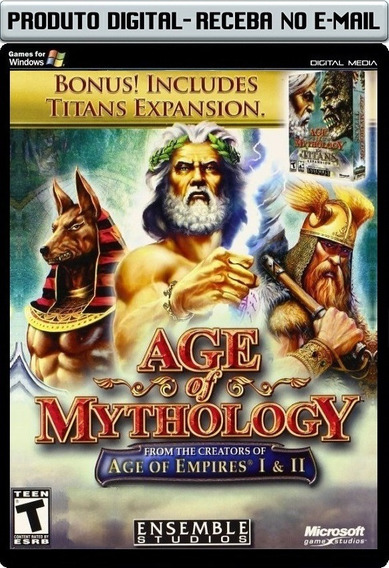 Age Of Mythology E Titans - Legendados - Pc - Envio Digital