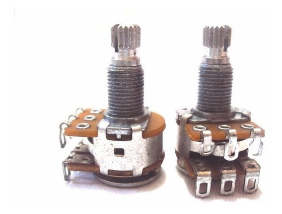 Potenciômetro Tone Gauge Blend, Balanço Mn250, 500k E Ac250k
