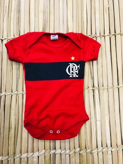 Body Infantil Bori Menino Personagem Roupas Flamengo Futebol