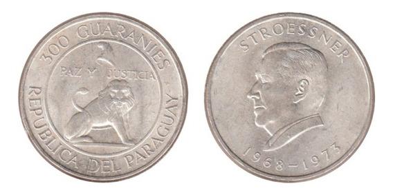 Moneda De 300 Guaraníes