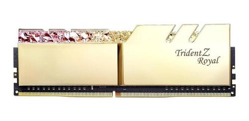 Memória Ram Trident Z Royal  16gb 2x8gb G.skill F4-4600c18d-