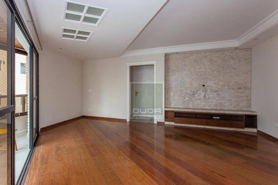 Apartamento Com 3 Dormitórios À Venda, 104 M² Por R$ 740. - Campo Belo - São Paulo/sp - Ap4967