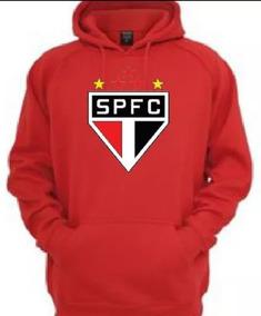 4fdf7c4cdca Blusa Moletom Frio Time São Paulo Futebol Moleton