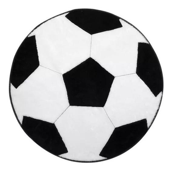 Kit 02 Tapetes P/ Quarto Infantil Bola Futebol Nãoderrapa