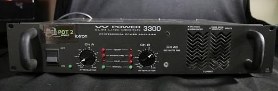 Potência W Power 3300 - Pouco Uso