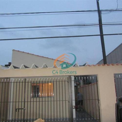 Sobrado Com 4 Dormitórios À Venda, 184 M² Por R$ 450.000,00 - Vila Nova - São Paulo/sp - So0637