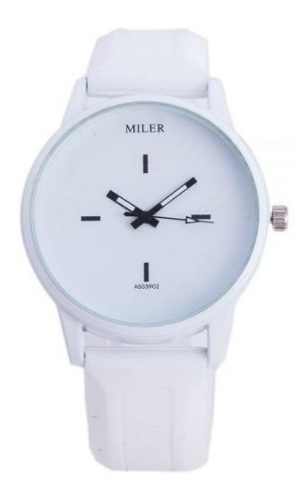 Relógio Pulso Feminino Miler Elegância Bonito Casual