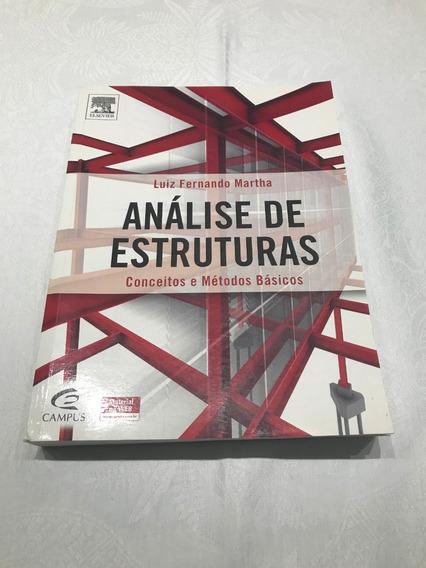 Livro Análise De Estruturas - Conceitos E Métodos Básicos
