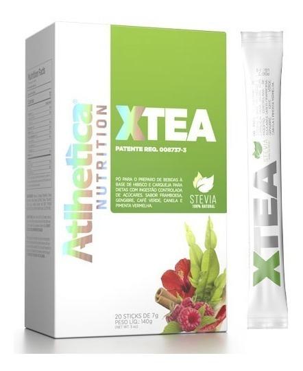 X-tea Chá Verde Carqueja 20 Sticks Atlhetica Envio Rápido