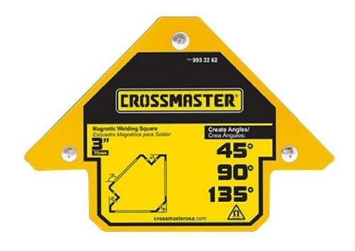 Escuadra Magnetica Para Soldar 3 11kg Crossmaster 9932262