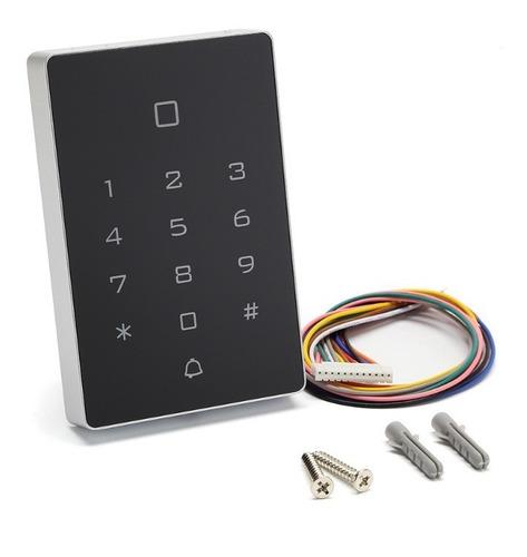 Teclado Acceso Control Personal Seguridad  Tarjetas Codigo