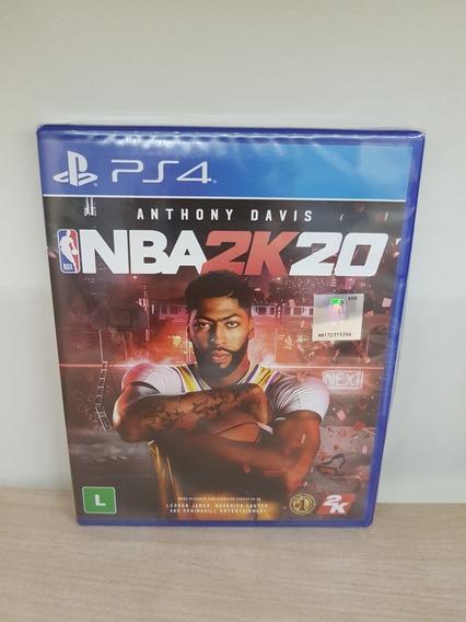 Nba 2k20 Ps4 Novo Lacrado Mídia Física Playstation 4
