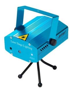 Laser Lluvia Mini Proyector Multipunto Led Colores Figuras