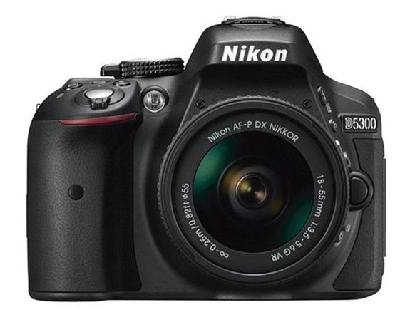 Câmera Nikon D5300 C/ Lente Af-p 18-55mm