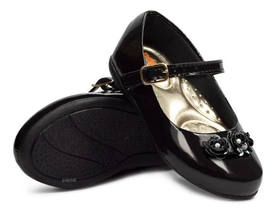 Sapatilha Infantil Feminina Sapato Menina Rasteirinha 205