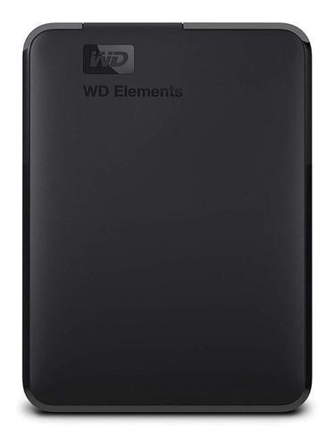 Disco duro externo Western Digital WD Elements WDBU6Y0040BBK-WESN 4TB negro