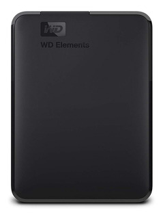 Disco duro externo Western Digital Elements Portable WDBU6Y0040BBK 4TB