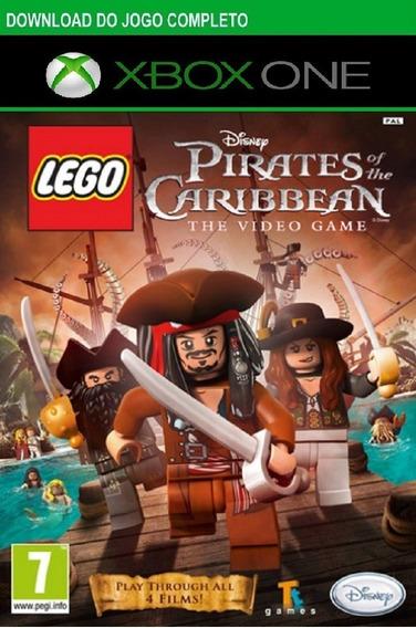 Jogo Infantil Lego Piratas Do Caribe Compativel Xbox One Digital