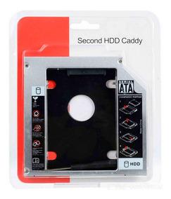 Adaptador Universal Caddy 2º Hd Ssd/dvd Notebook 9mm 9,5mm