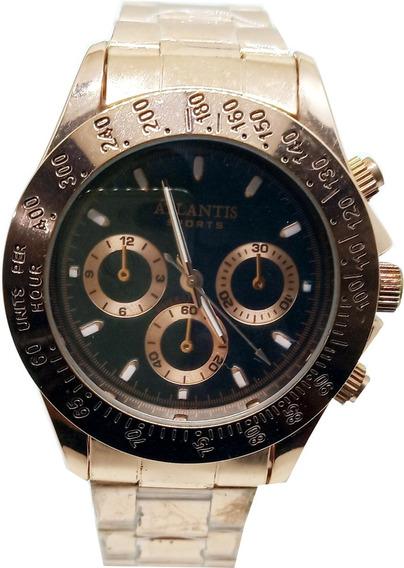 Relógio Atlantis Rosê Unisex