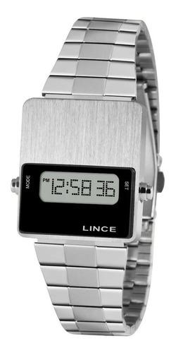 Imagem 1 de 9 de Relógio Lince Feminino Digital  Sdm4633l Bxsx