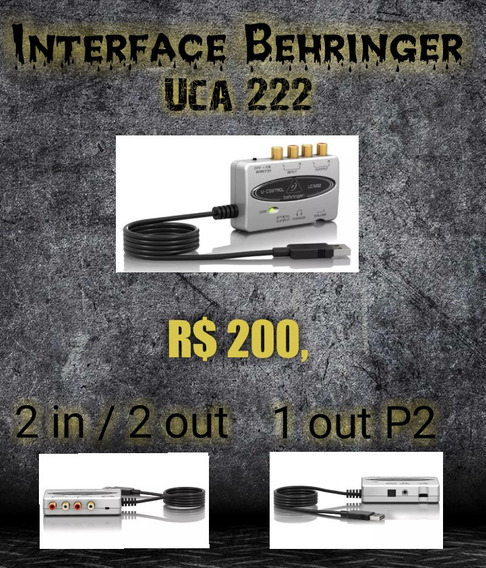 Interface Uca 222 Behringer