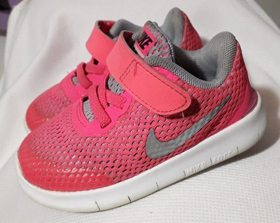 Nike Zapatos D Niña Bebe Fucsia Usados Talla 6c adidas Puma