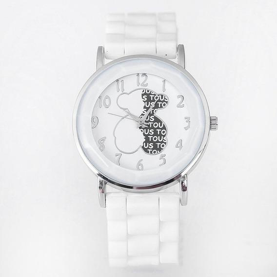 Relógio De Silicone Quartzo Urso Relógio Esporte Pulso Para