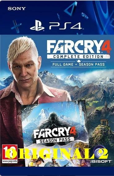 Far Cry 4 Gold - Ps4 Cod 2 Dublado Pt-br Envio Ja