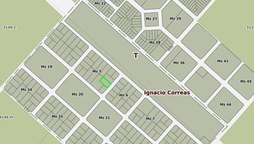 Terreno En Venta En Ignacio Correas