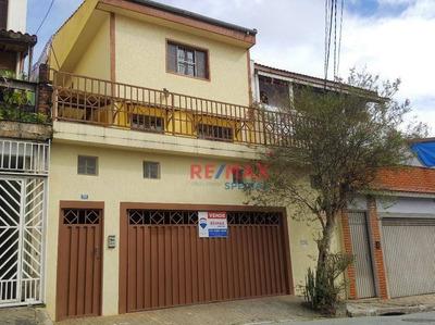 Sobrado Com 3 Dormitórios Com Edícula À Venda, R$ 695.000 - Vl. Galvão/vl. Rosália - Guarulhos/sp - So0055